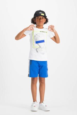T-shirt Hyper met printopdruk wit