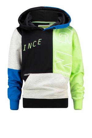 hoodie Mace zwart/multi