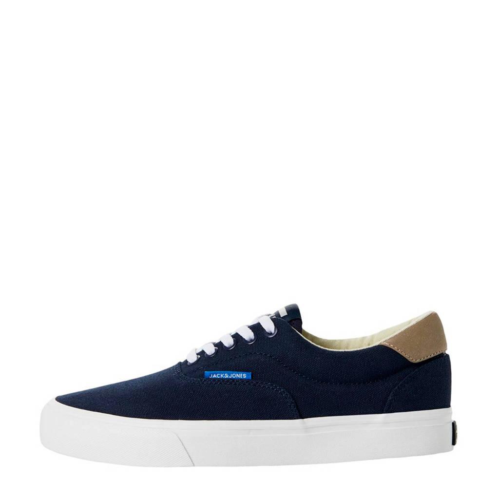 JACK & JONES JUNIOR   sneakers donkerblauw, Donkerblauw/Beige