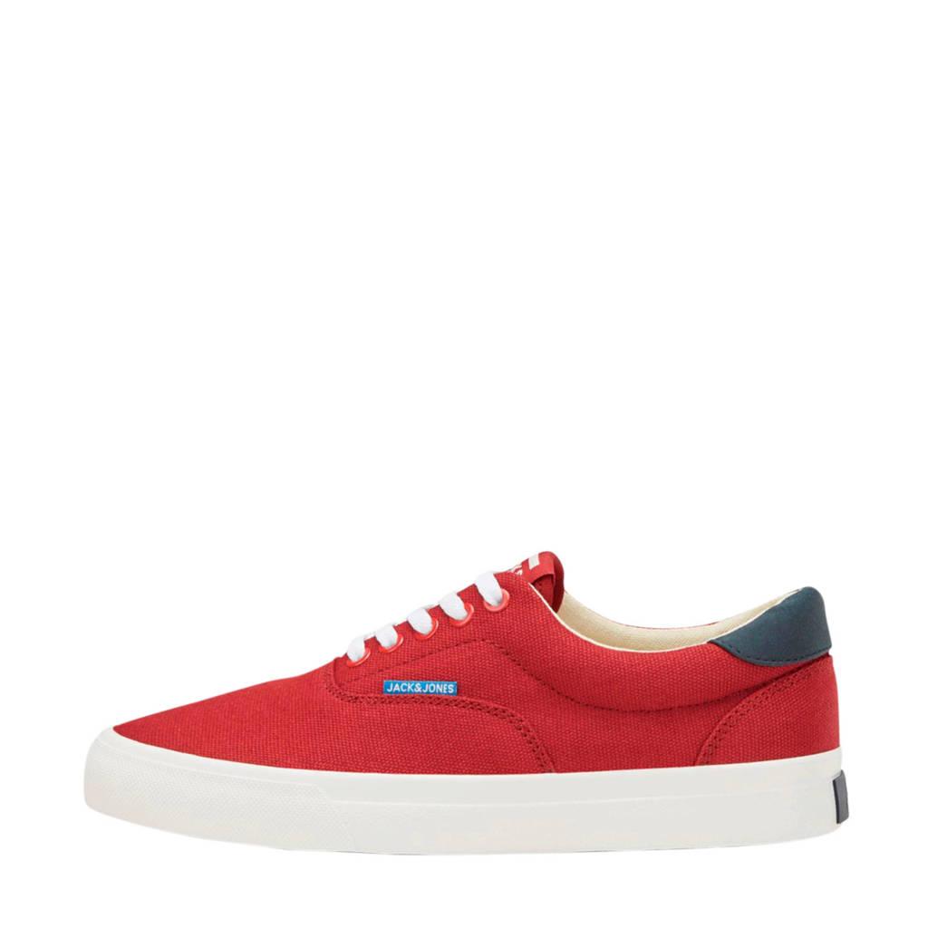 JACK & JONES JUNIOR   sneakers rood, Rood