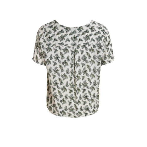 OBJECT blouse met all over print wit