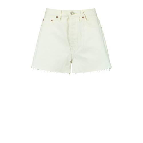 America Today high waist jeans short Jadan off whi
