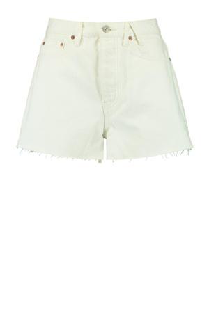 high waist jeans short Jadan off white