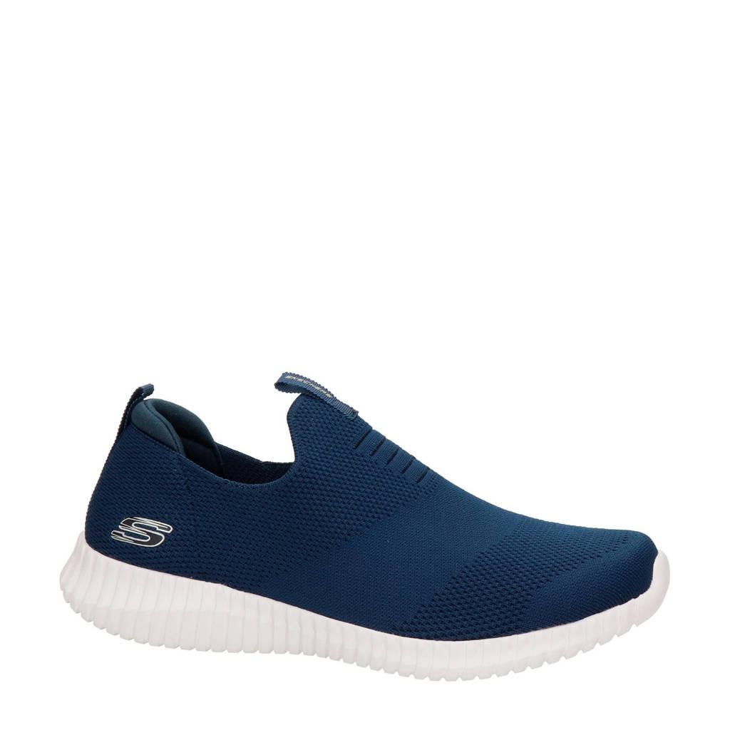 Skechers   instappers blauw, Blauw