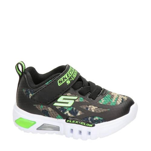Skechers Camo Rondler sneakers met lichtjes groen