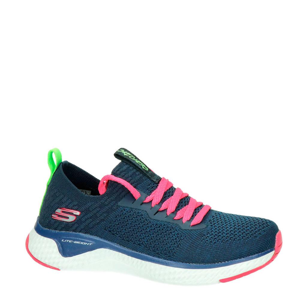 Skechers   sneakers blauw, Blauw/multi