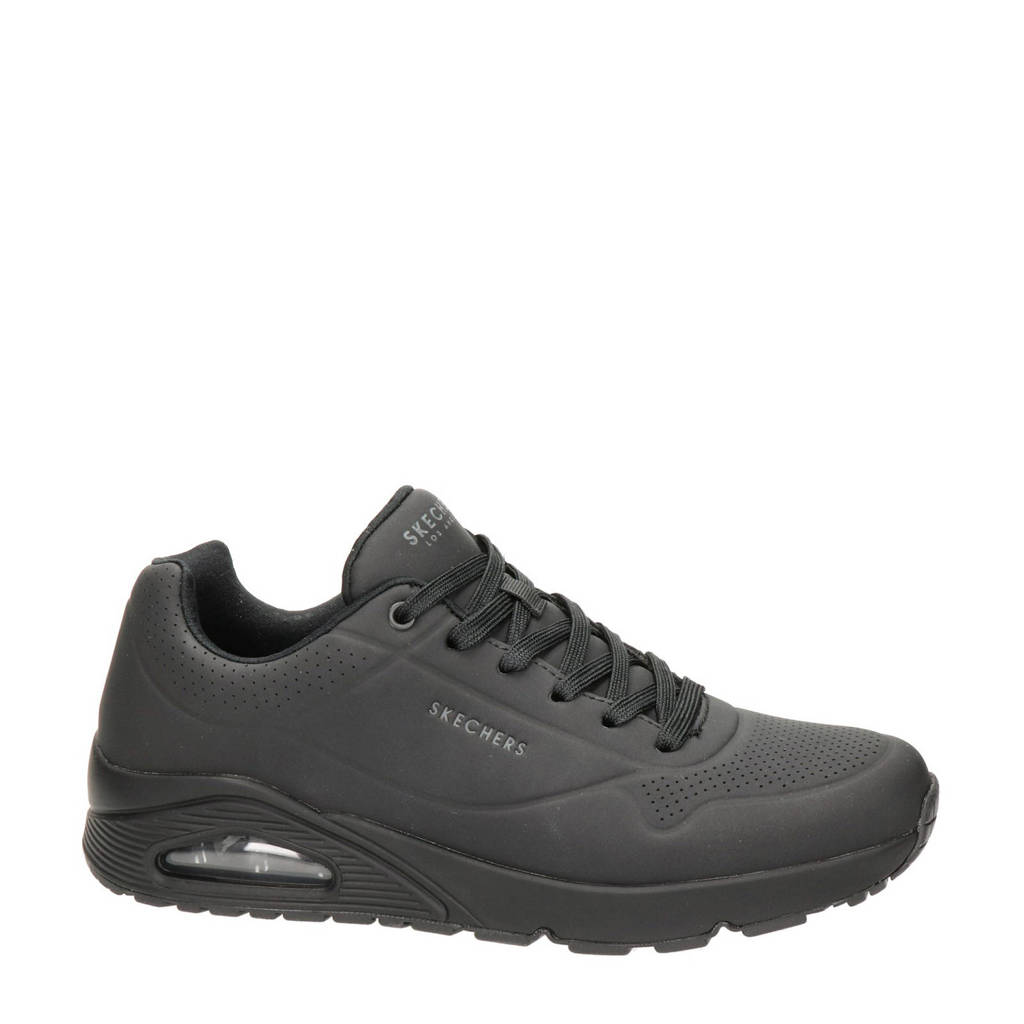 Skechers Stand On Air  sneakers zwart, Zwart/Zwart