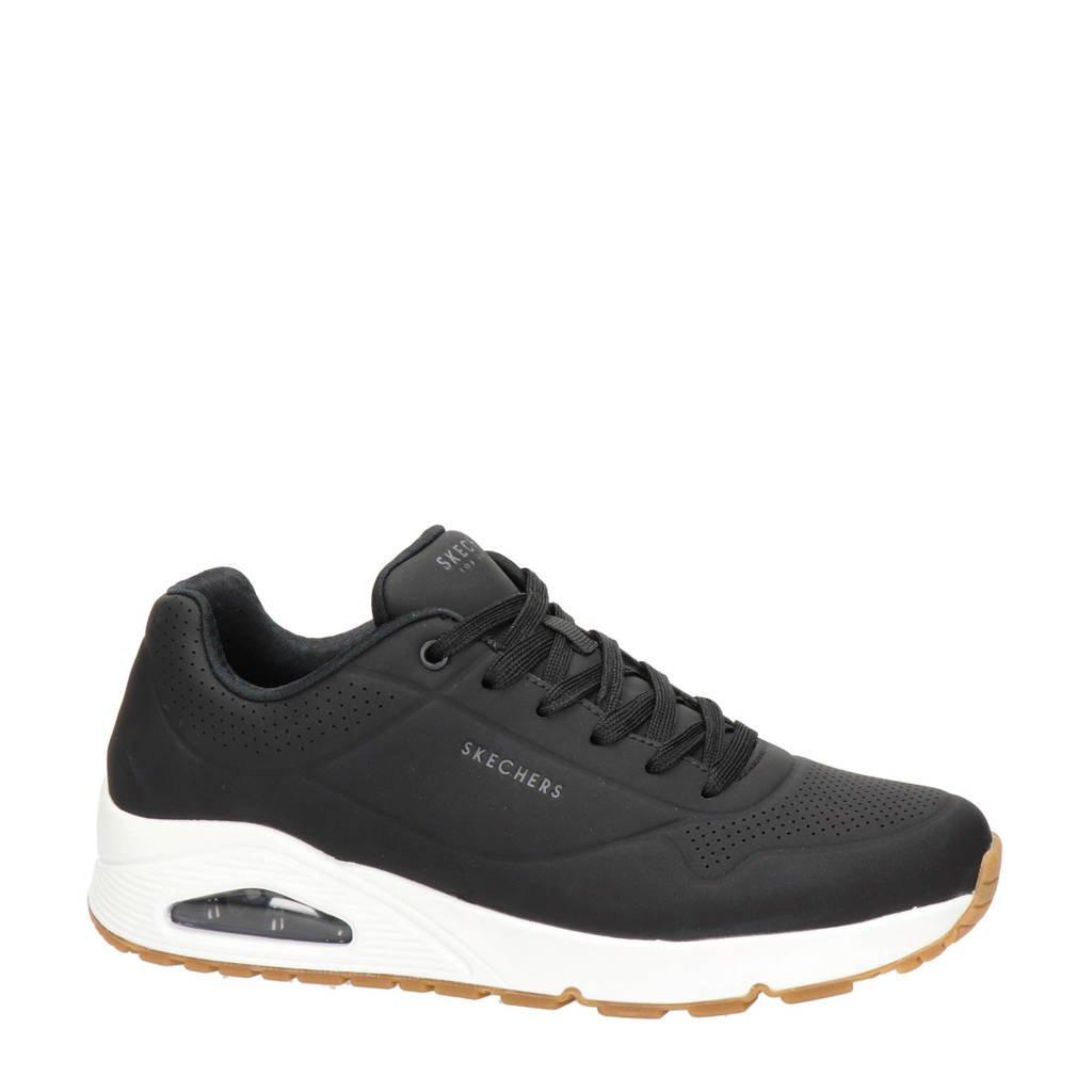Skechers Stand On Air  sneakers zwart/wit, Zwart/wit