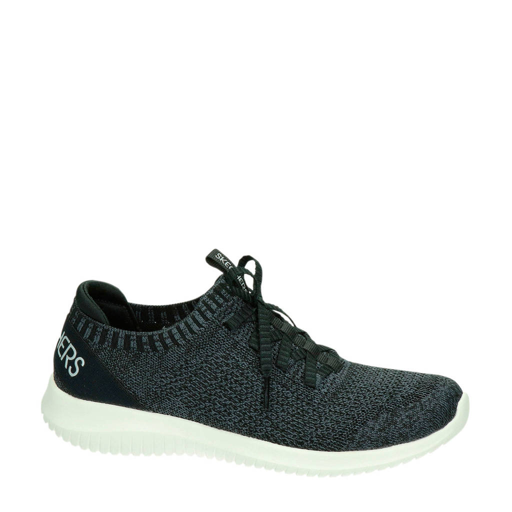 Skechers Stretch Fit  sneakers zwart, Zwart
