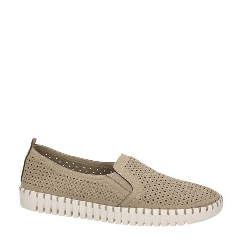 Skechers Active Avenue instappers taupe