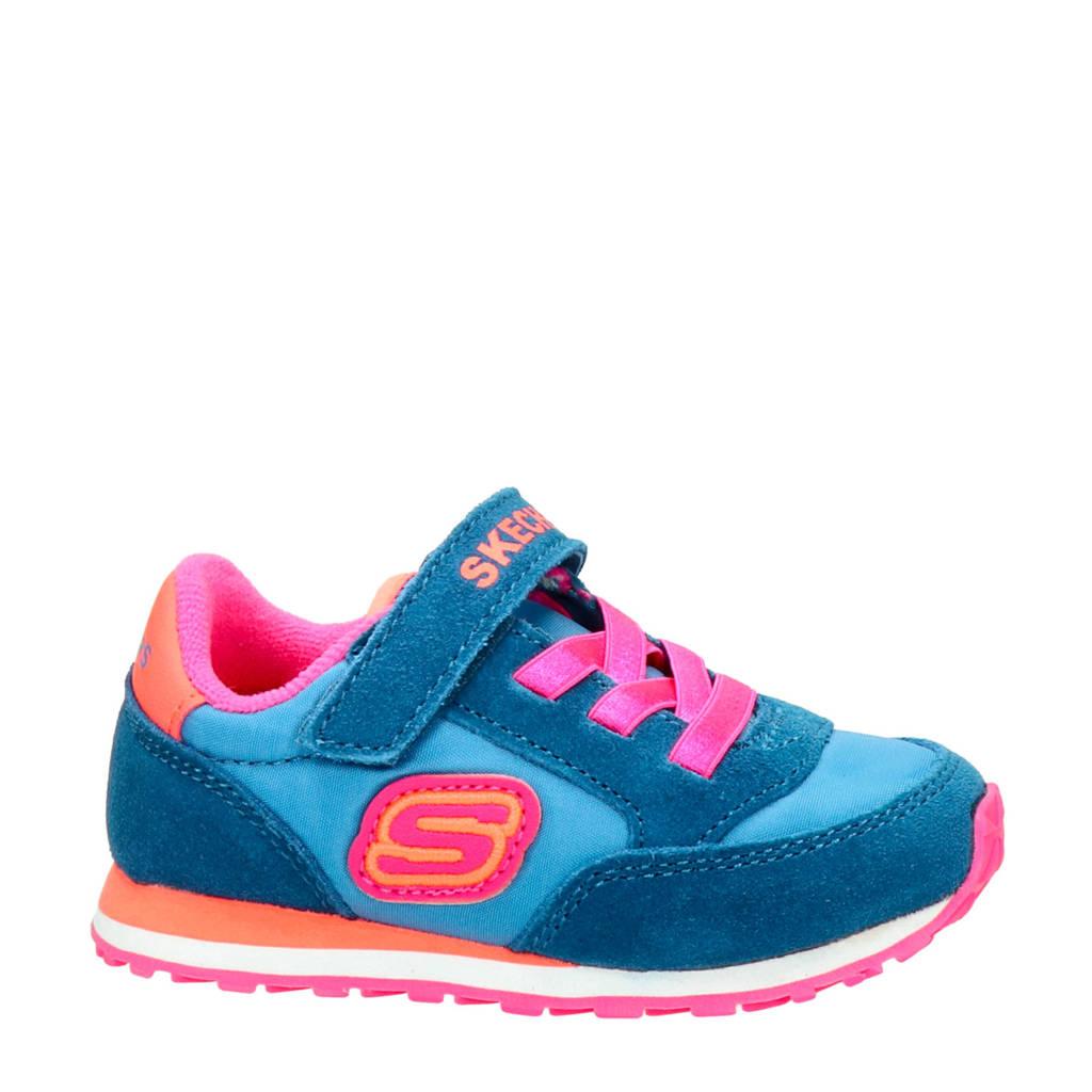 Skechers Girl  sneakers blauw/roze, Blauw/roze