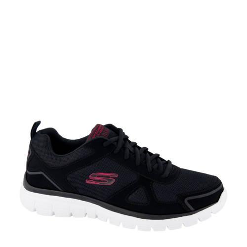 Skechers sneakers zwart/rood