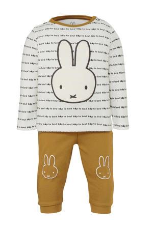 pyjama nijntje wit/bruin/zwart