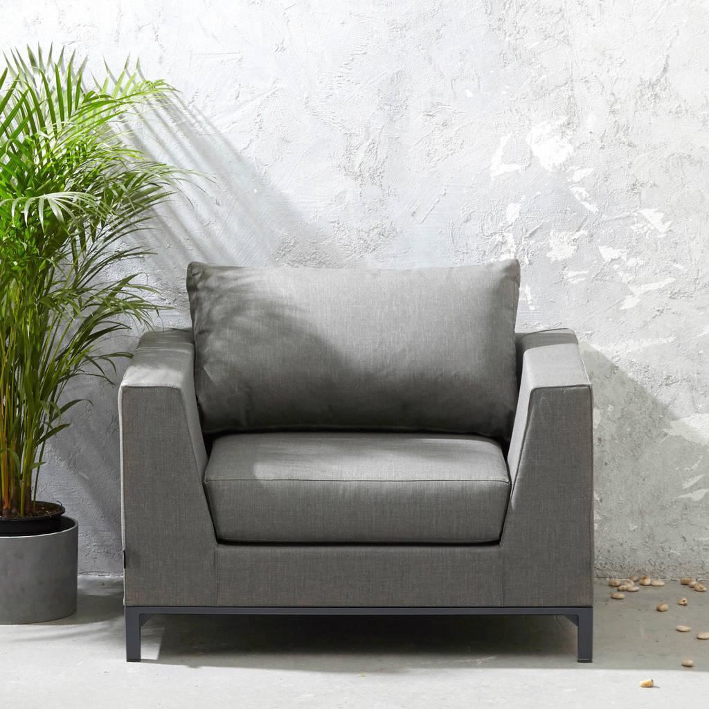 Exotan loungestoel Sicilië, Stone grey