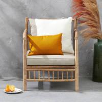 Exotan loungestoel Bamboo, Bruin