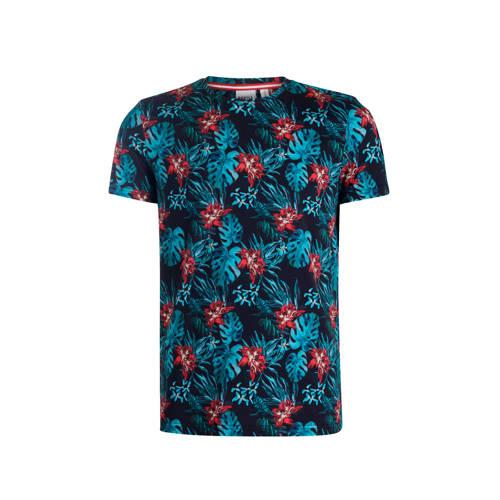 Refill by Shoeby T-shirt met bladprint various