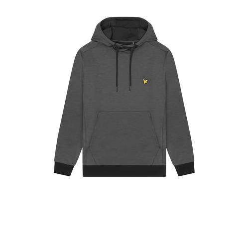 Lyle & Scott hoodie zwart