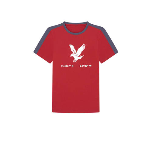 Lyle & Scott T-shirt rood
