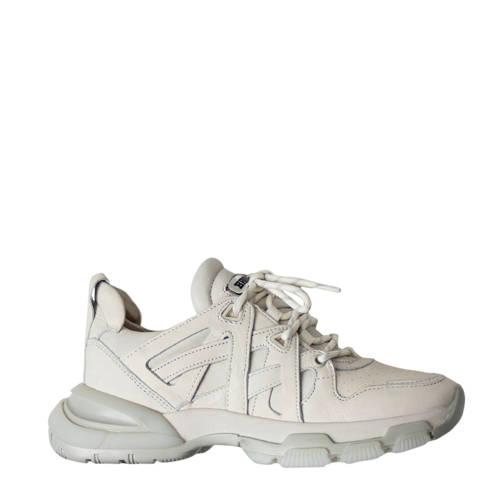 Bronx Seventy-Street leren sneakers off white