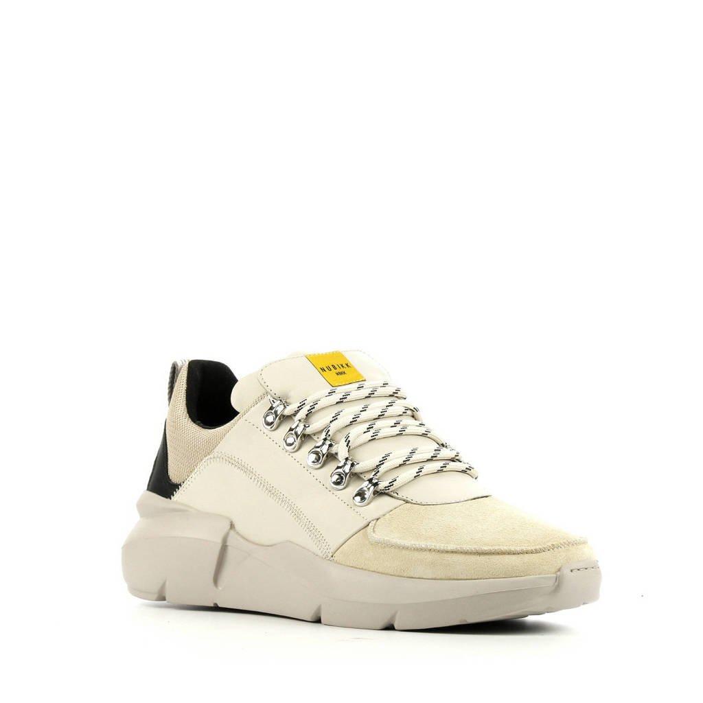 Nubikk Elvin Royal  leren sneakers beige, Beige