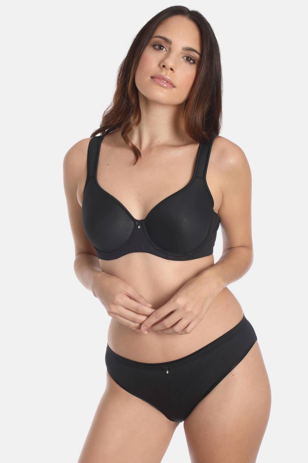 Sassa Mode beugelbh Sensual Pebble zwart, Zwart