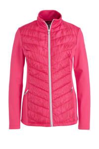 Falcon sportjack rood/roze, Rood/roze