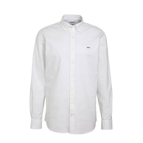 McGregor slim fit overhemd wit