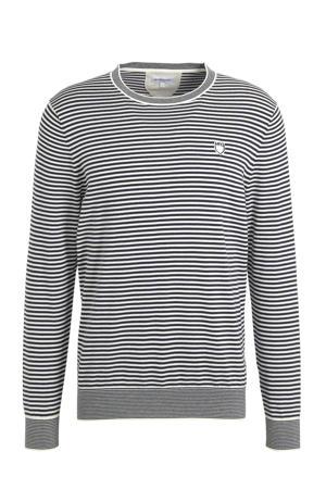gestreepte sweater grijs