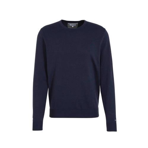 McGregor fijngebreide trui donkerblauw