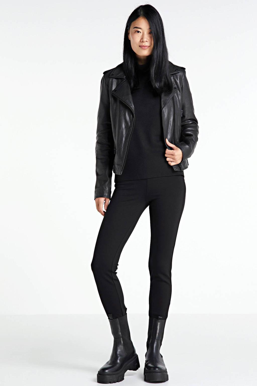 GUESS high waist skinny broek zwart, Zwart
