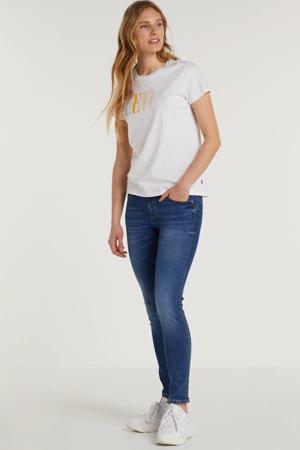 low waist skinny jeans Curve X blauw