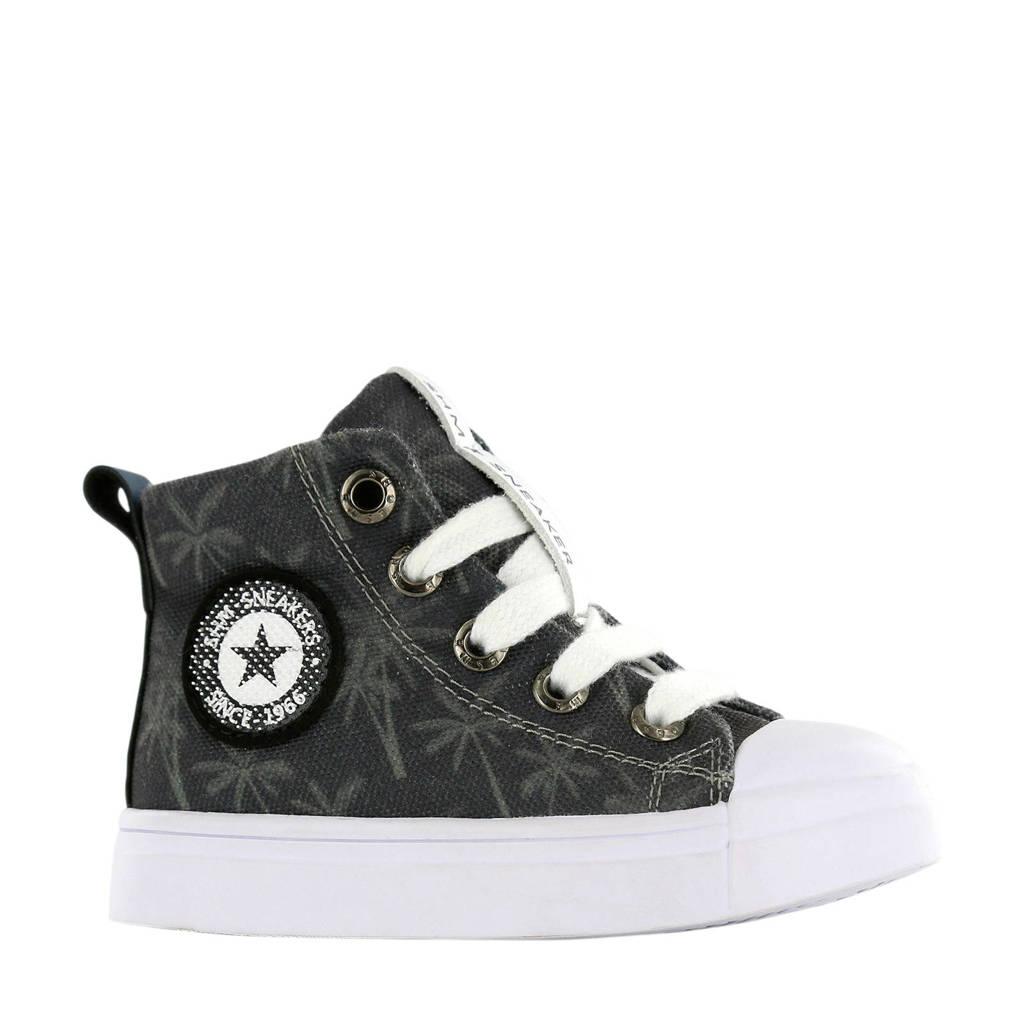 Shoesme SH20S008-B  sneakers met palmbomenprint, Grijs