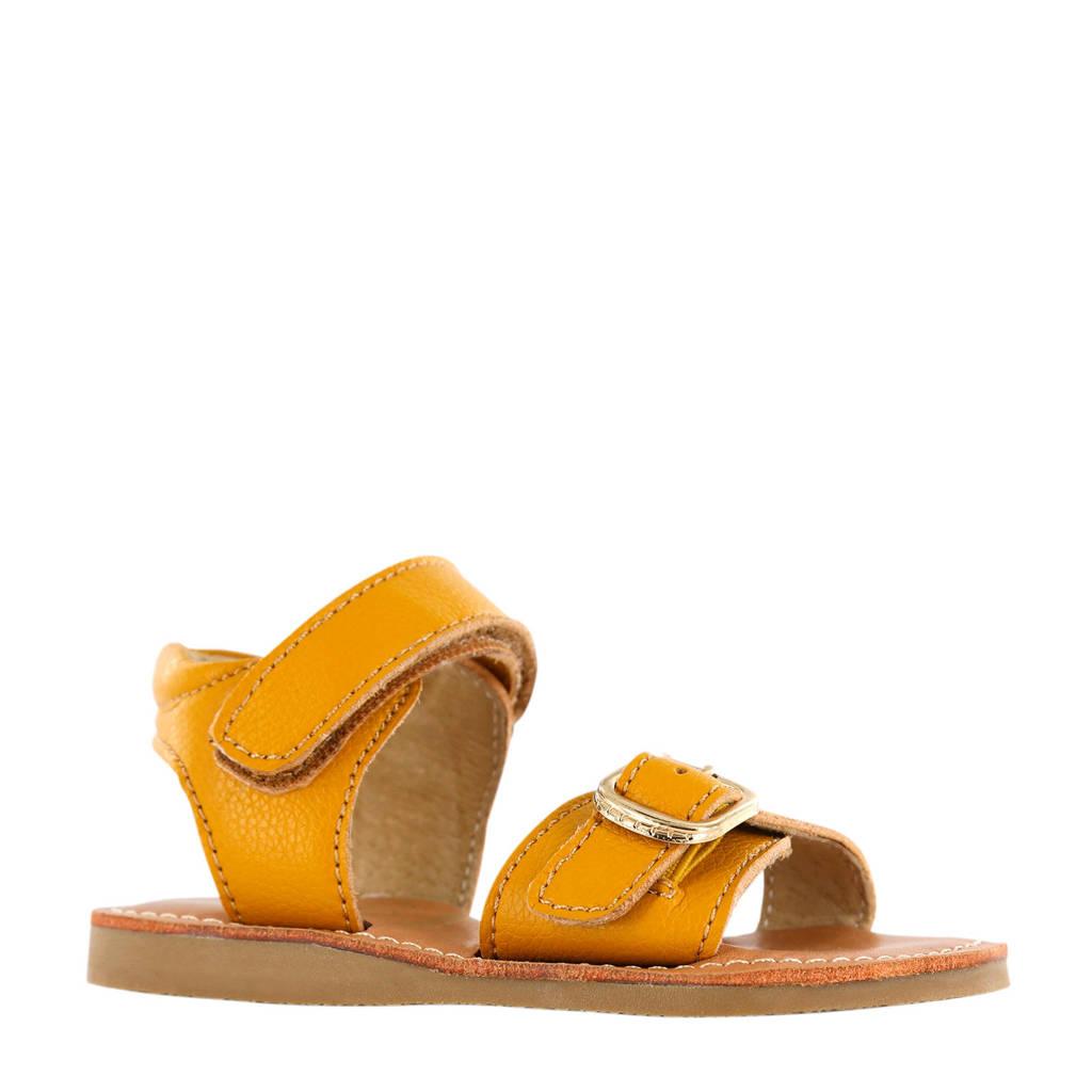 Shoesme CS20S004-C  leren sandalen geel, Geel