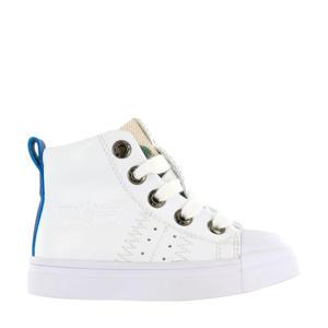 SH20S009-A  leren sneakers wit