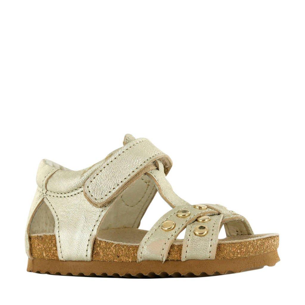 Shoesme BI20S075-B  leren sandalen goud, Goud