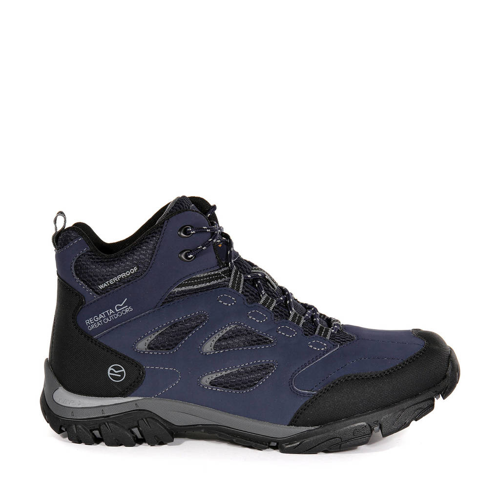Regatta Holcombe Iep Mid wandelschoenen blauw/zwart, Blauw/zwart