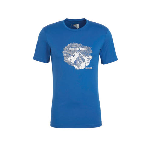 Regatta outdoor T-shirt blauw