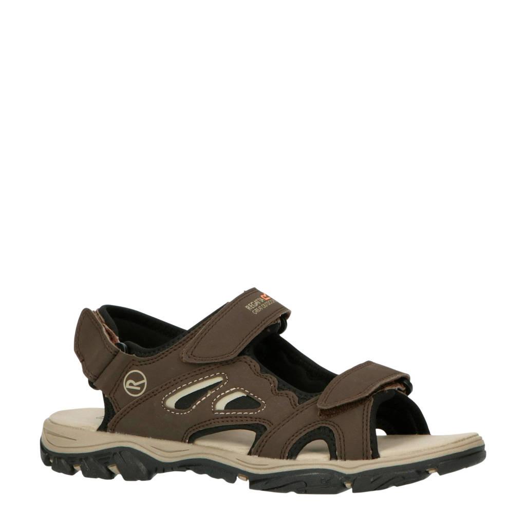 Regatta Holcombe Vent  outdoor sandalen donkerbruin, Donkerbruin