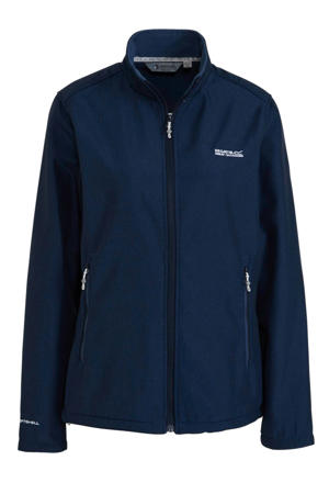 softshell jack Connie donkerblauw