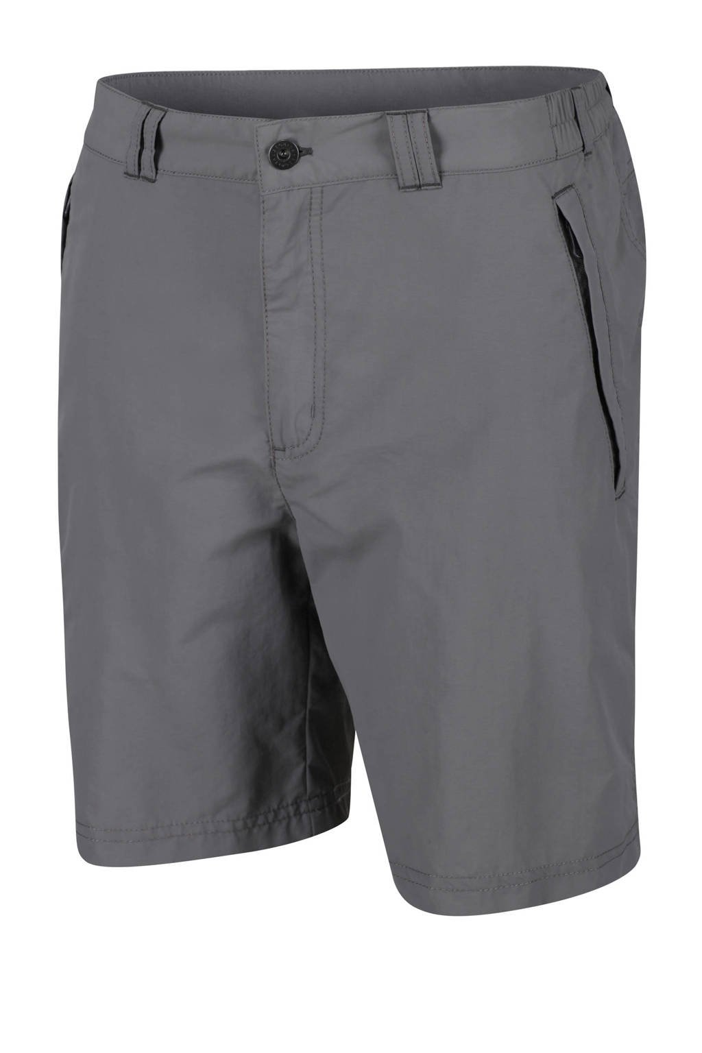 Regatta outdoor short Leesville grijs, Grijs