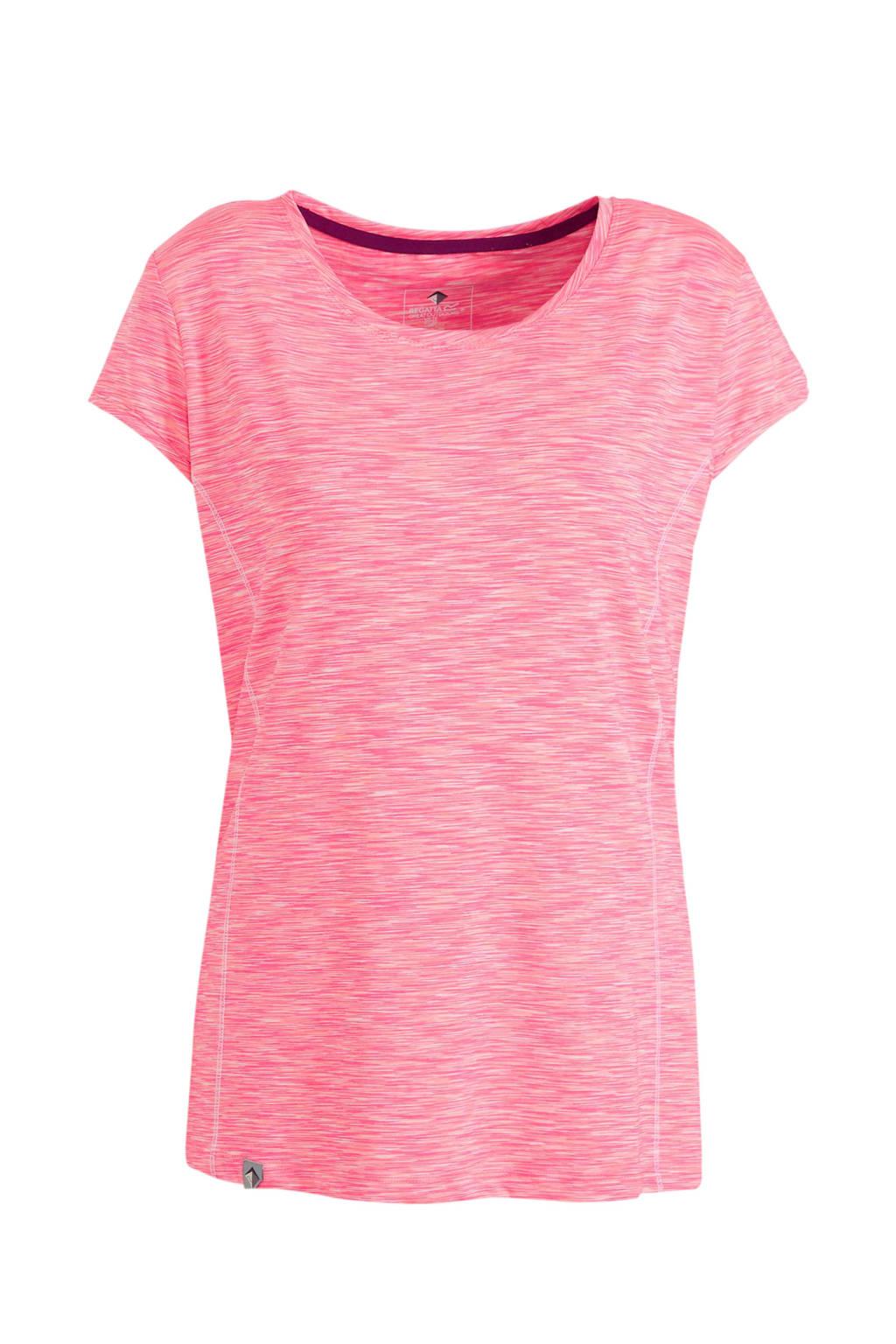 Regatta outdoor T-shirt roze, Roze