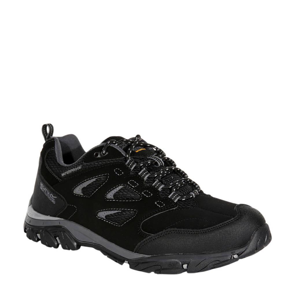 Regatta Holcombe Iep Low wandelschoenen zwart/grijs, Zwart/grijs