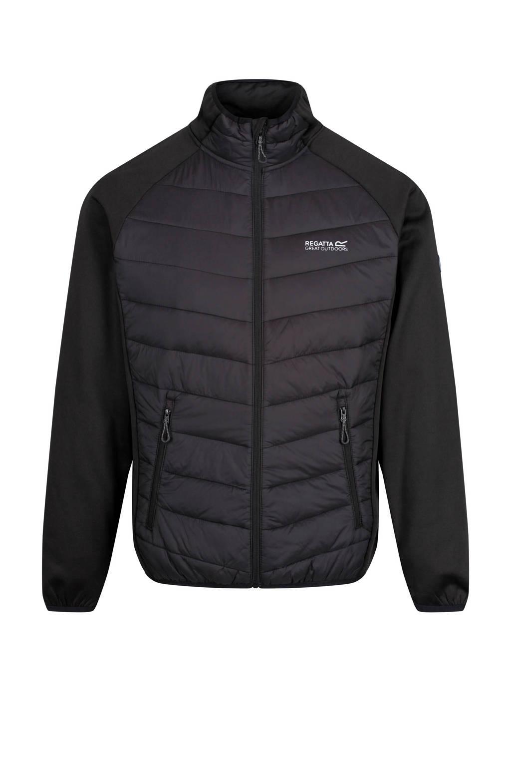 Regatta outdoor jack zwart, Zwart