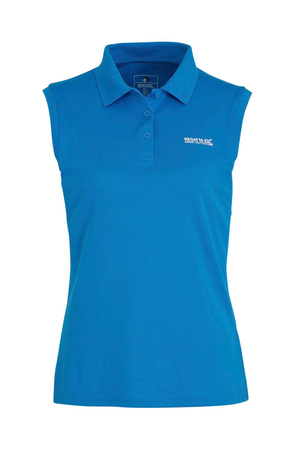 Regatta outdoor polo blauw, Blauw
