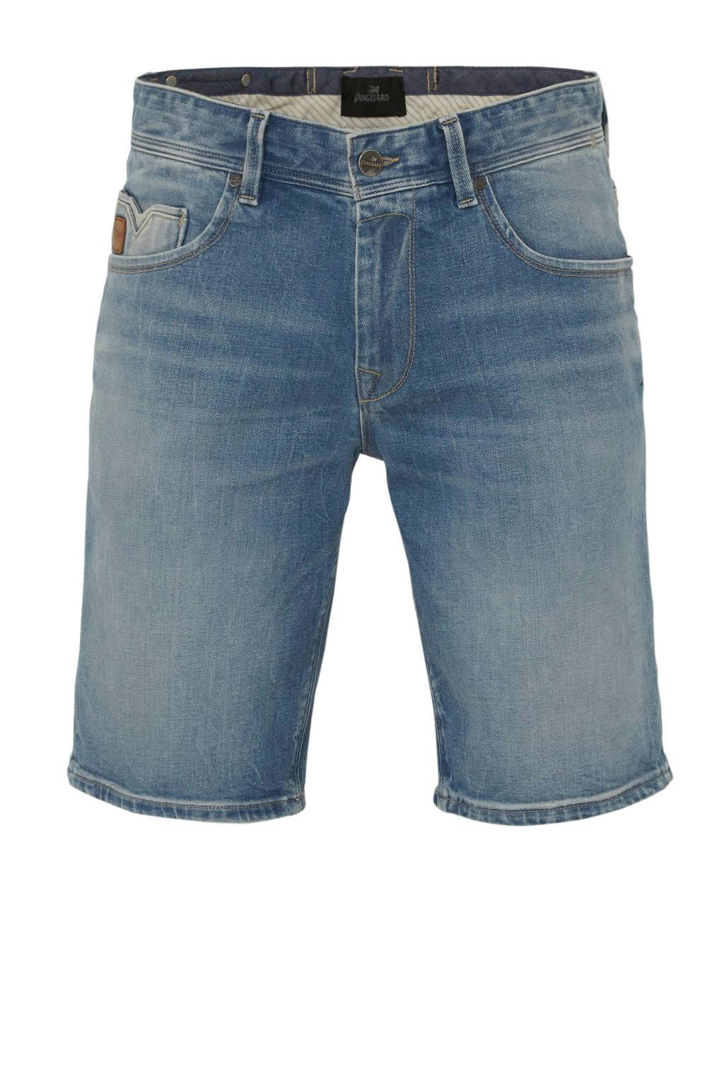 Vanguard regular fit jeans short blauw, Blauw