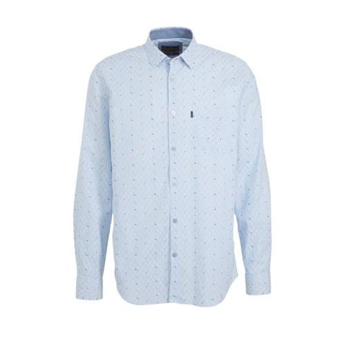 Vanguard slim fit overhemd met all over print lich