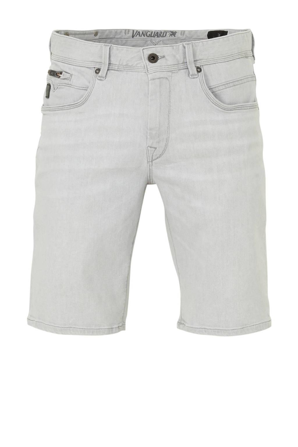 Vanguard regular fit jeans short lichtgrijs, Lichtgrijs