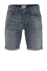 Cast Iron slim fit jeans short grijsblauw, Grijsblauw