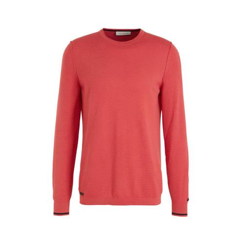 Cast Iron sweater koraal