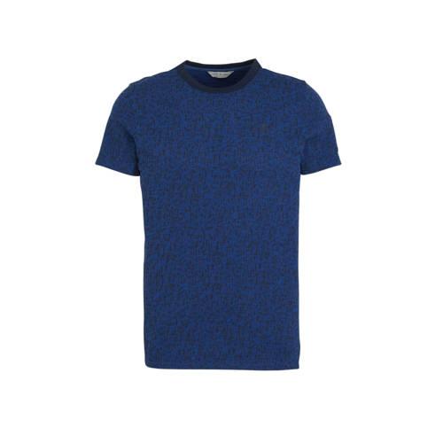 Cast Iron T-shirt donkerblauw